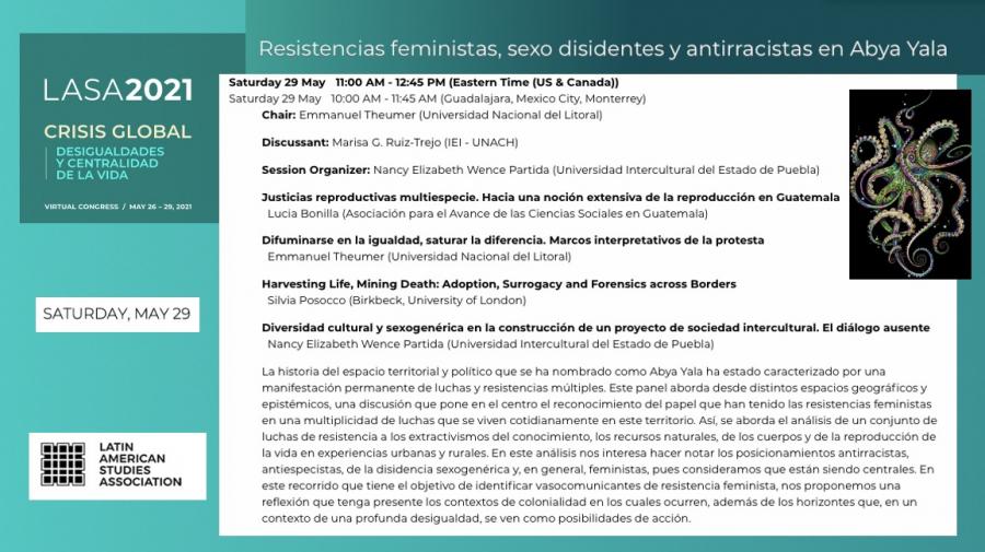 2021 LASA congress in Vancouver  Compañeras: haciendo puentes entre investigadoras feministas de América Latina